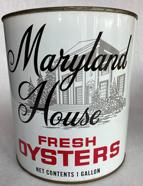 Maryland House fresh Oyster Tin