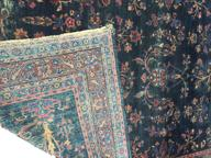 D315 D315 Early Oriental area rug with a great floral design pattern and wonderful colors 89� long 55� wide