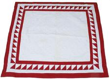 "V259 Early 20th century hand made Crib Quilt  in excellent condition,  from a private collection.45"" x 40"""