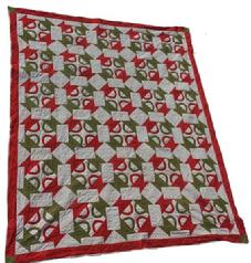 "C62 Late 19th century Hand made quilt ""Four Baskets' from the Hasler estate Keezletown Virginia circa 1880 treadle machine quilted with hearts 64"" x 78"" great colors and condition"