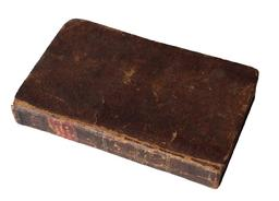 A205  leather Book  Ayre in the liver 1822 signed by Baltimore Doctory published in Mass.